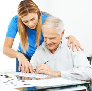 Gerontopsychiatrische Pflege und Betreuung