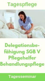Tagespflege Delegationsbefähigung