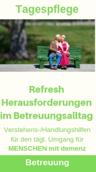 Tagespflege Refresh Betreuung